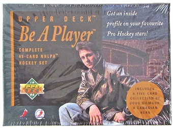 1994 Upper Deck Be A Player 45 Card Hockey Set