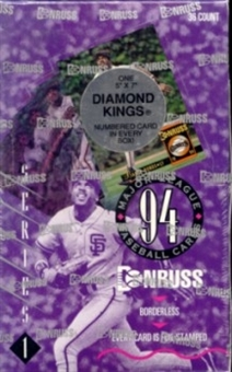 1994 Donruss Series 1 Baseball Hobby Box