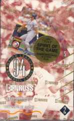 1994 Donruss Series 2 Baseball Hobby Box