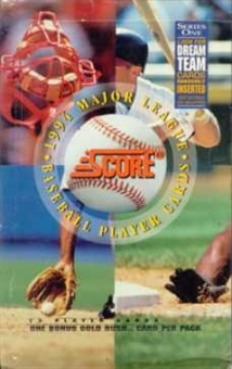 1994 Score Series 1 Baseball Retail Box