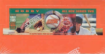 1994 Score Series 2 Baseball Hobby Box