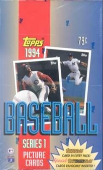 1994 Topps Series 1 Baseball Hobby Box
