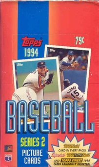 1994 Topps Series 2 Baseball Rack Box