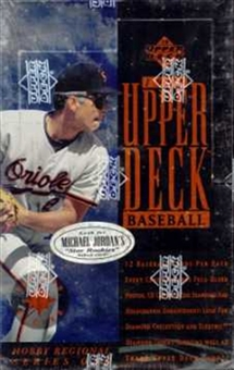 1994 Upper Deck Series 1 Western Baseball Hobby Box