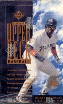 1994 Upper Deck Series 2 Western Baseball Hobby Box
