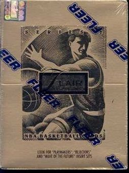 1994/95 Flair Series 2 Basketball Hobby Box