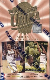 1994/95 Fleer Ultra Series 1 Basketball Hobby Box