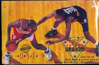 1994/95 Futera Austrailian Series 1 Basketball Hobby Box