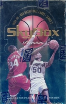 1994/95 Skybox Premium Series 2 Basketball Hobby Box
