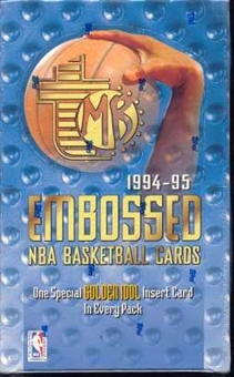 1994/95 Topps Embossed Basketball Hobby Box