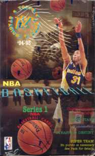 1994/95 Topps Stadium Club Series 1 Basketball Hobby Box