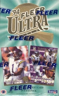1994 Fleer Ultra Series 2 Football Hobby Box