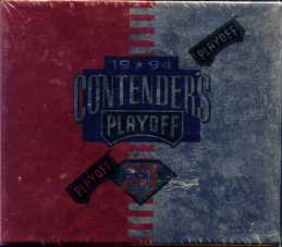 1994 Playoff Contenders Football Hobby Box