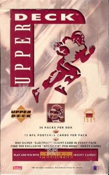 1994 Upper Deck Football Hobby Box