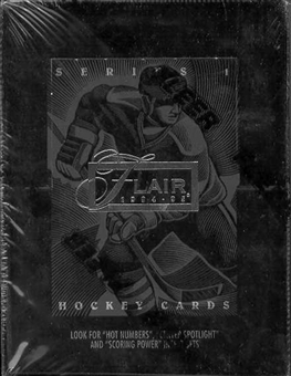 1994/95 Fleer Flair Hockey Hobby Box
