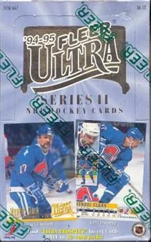 1994/95 Fleer Ultra Series 2 Hockey Hobby Box