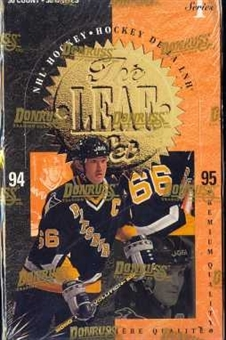 1994/95 Leaf Series 1 Hockey Hobby Box