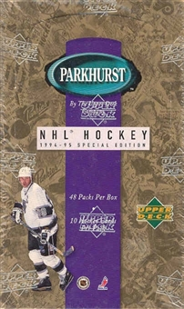 1994/95 Parkhurst SE Hockey Hobby Box