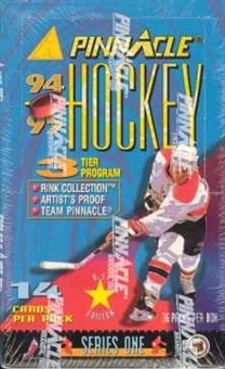 1994/95 Pinnacle Series 1 Hockey 36 Pack Box