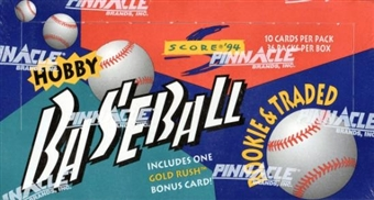 1994 Score Traded & Rookies Baseball Hobby Box