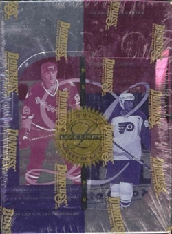 1995/96 Leaf Limited Hockey Hobby Box