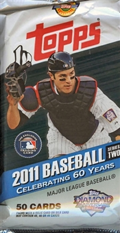 2011 Topps Series 2 Baseball Jumbo Pack