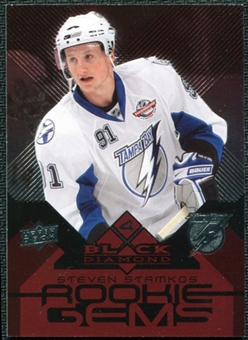 2008/09 Upper Deck Black Diamond Ruby #209 Steven Stamkos /100