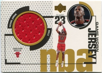 1998/99 Upper Deck Game Jerseys #GJ20 Michael Jordan