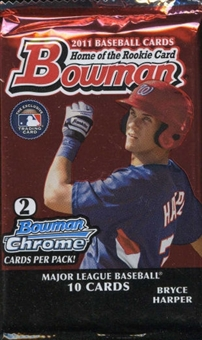 2011 Bowman Baseball Retail Pack