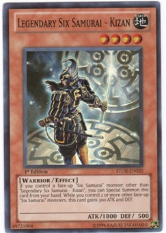 Yu-Gi-Oh Storm of Ragnarok Single Legendary Six Samurai - Kizan Super Rare
