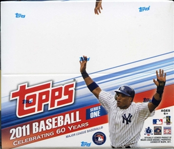 2011 Topps Series 1 Baseball 24-Pack Box