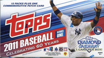 2011 Topps Series 1 Baseball  10-Pack Box