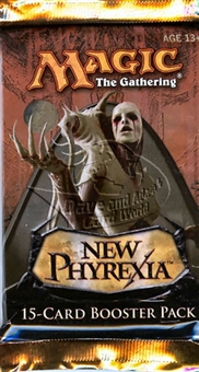Magic the Gathering New Phyrexia Booster Pack