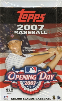 2007 Topps Opening Day Baseball 36 Pack Box