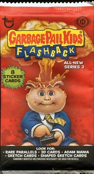 Garbage Pail Kids Flashback Series 2 Sticker Pack (Topps 2011)