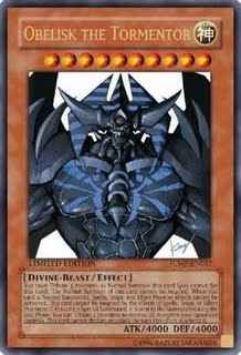 Yu-Gi-Oh Promo Single Obelisk the Tormentor Ultra Rare JUMP