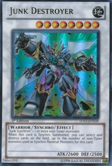 Yu-Gi-Oh SD 5D's Single Junk Destroyer Ultra Rare