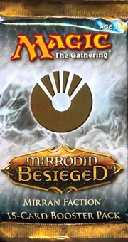 Magic the Gathering Mirrodin Besieged Mirran Faction Booster Pack