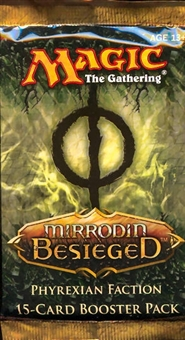 Magic the Gathering Mirrodin Besieged Phyrexian Faction Booster Pack