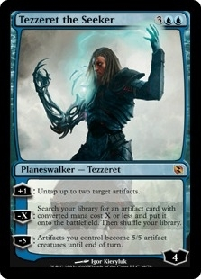 Magic the Gathering Duel Deck Single Tezzeret the Seeker FOIL