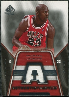 2007/08 SP Game Used Authentic Fabrics Jersey #AFMJ Michael Jordan