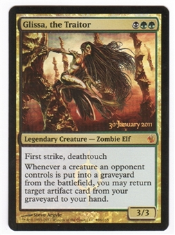 Magic the Gathering Mirrodin Besieged Single Glissa, the Traitor Prerelease Foil