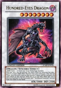 Yu-Gi-Oh Promo Single Hundred-Eyes Dragon Ultra Rare (JUMP-EN039)