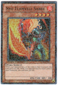 Yu-Gi-Oh Duel Terminal 4 Single Neo Flamvell Sabre Super Rare