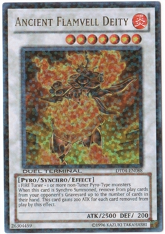 Yu-Gi-Oh Duel Terminal 4 Single Ancient Flamvell Deity Ultra Rare