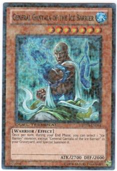Yu-Gi-Oh Duel Terminal 4 Single General Gantala of the Ice Barrier Super Rare