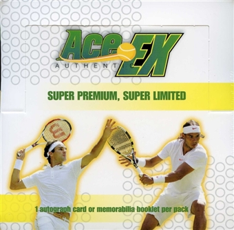 2011 Ace Authentic EX Tennis Hobby Box