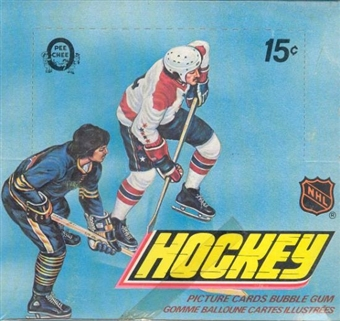1977/78 O-Pee-Chee Hockey Wax Box