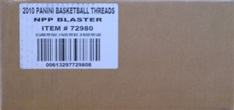 2010/11 Panini Threads Basketball Blaster 20-Box Case
