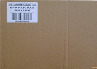 2010/11 Panini Prestige Basketball Rack 20-Box Case